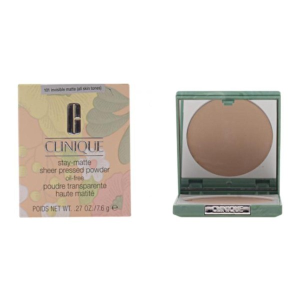 Clinique stay matte sheer polvos compactos 101 invisible matte